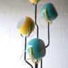 1970s Blue Yellow Floor Lamp1