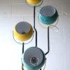 1970s Blue Yellow Floor Lamp5