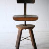 Industrial Wooden Chair