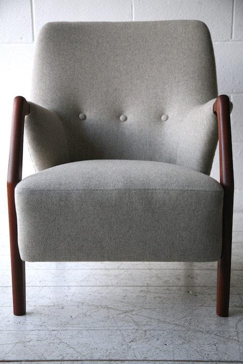 Pair of 1950s Scandinavian Teak Armchairs7