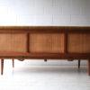 Teak Sofa Designed by Peter Hvidt Denmark