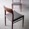 Vintage Teak Model 75 Chairs by Niels Moller1