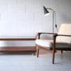 1950s Grey Floor Lamp