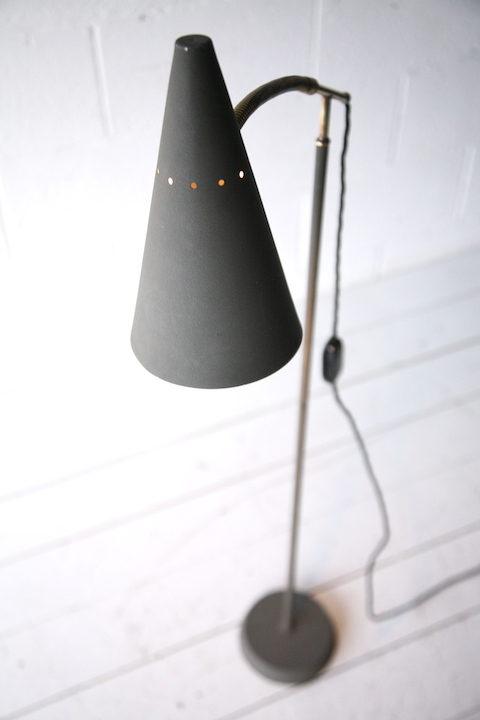 1950s Grey Floor Lamp1