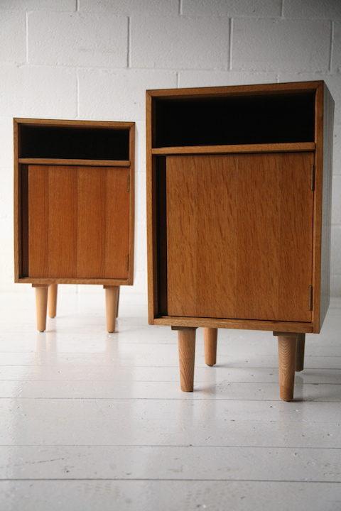 1960s C Range Bedside Cabinets 2