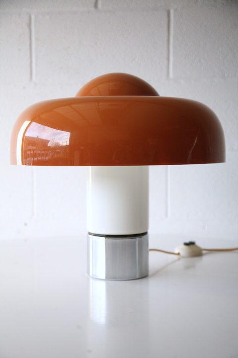 Brumbury Lamp Designed by Luigi Massoni for Guzzini 1963 1