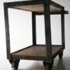Industrial Steel and Wood Trolley 3