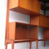 Large Modular Teak Shelving Unit 5