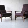 Pair of 1960s Teak Armchairs2
