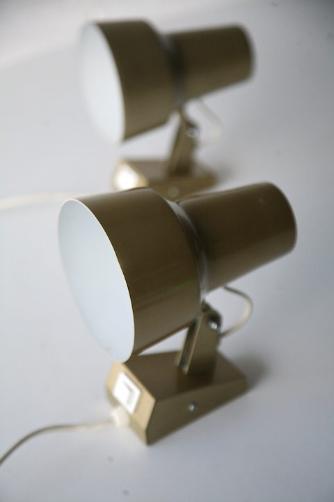 Vintage Luxo Wall Lamps
