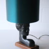 1950s Abstract Figure Table Lamp