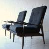 1960s Teak Armchairs by Scandart 2