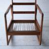 Danish Teak Rocking Chair by Ole Wanscher