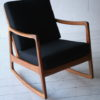 Danish Teak Rocking Chair by Ole Wanscher 3