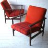 Pair of Teak 1960s Armchairs 4
