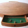 Teak Drum Dining Table by Robert Heritage 3