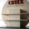Vintage Cutex Shop Display Cabinet 2