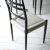1950s Black White G Plan Dining Chairs 1