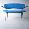 1950s Blue Bench 2