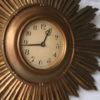 1950s Sunburst Wall Clock