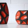 1960s Fat Lava Vases by Roth 2