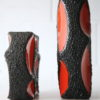 1960s Fat Lava Vases by Roth 4
