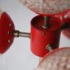 1970s 4 Bulb Orange Floor Lamp 3