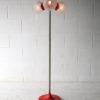 1970s 4 Bulb Orange Floor Lamp 4