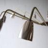 Huge 1950s Brass and Teak Chandelier 6