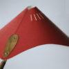 Vintage 1950s Red Desk Lamp 2