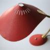 Vintage 1950s Red Desk Lamp 3