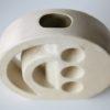 Vintage 1960s Modernist Ceramic Vase 2