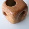 Vintage Bertoncello Vase in 'Tabacco' Glaze 1