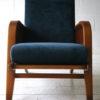 1930s Blue Velvet Armchair 3