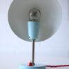 1950s Blue Desk lamp 4