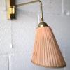 1950s Brass Wall Light