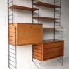 1960s Brianco Teak Shelving Unit 2