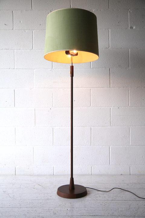 1960s Danish Teak Floor Lamp 1