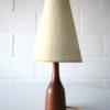1960s Danish Teak Table Lamp