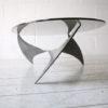 1960s 'Propeller' Table by Knut Hesterberg for Ronald Schmitt 2