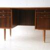 1960s Teak and Walnut Writing Desk 4