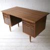 1960s Teak and Walnut Writing Desk 5