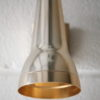 1970s Anodised Wall Light by Conelight