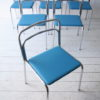 1970s Chrome Glass Dining Table and 6 Chairs 3
