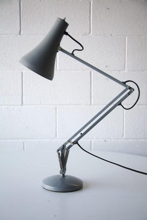 1970s Grey Anglepoise Desk Lamp 2