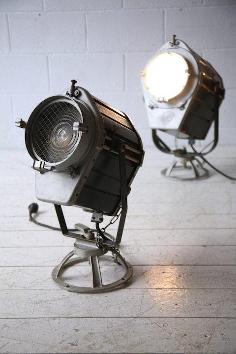 1970s Industrial Theatre Lights 3