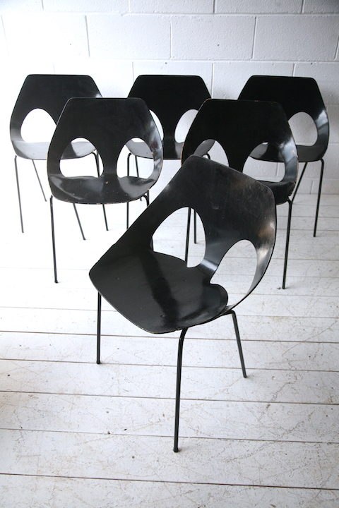 Set of 6 'Jason' Dining Chairs by Kandya