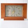 Vintage Toshiba Teak Clock 3