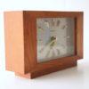Vintage Toshiba Teak Clock 4