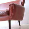 1960s Danish Leather Rosewood Sofa  4